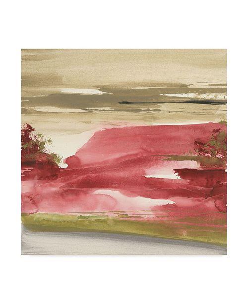 """Trademark Global Chris Paschke Red Rock I Canvas Art - 15"""" x 20"""""""