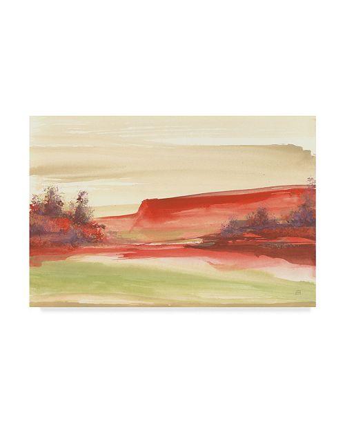 "Trademark Global Chris Paschke Red Rock III Canvas Art - 37"" x 49"""