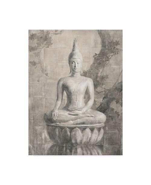 "Trademark Global Danhui Nai Buddha Neutral Canvas Art - 20"" x 25"""