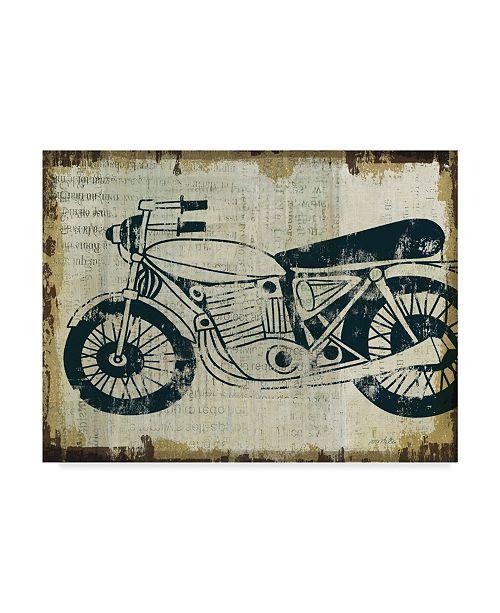 "Trademark Global Michael Mullan American Pop Moto Canvas Art - 20"" x 25"""