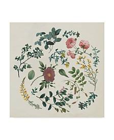 """Wild Apple Portfolio Victorian Garden II Canvas Art - 15"""" x 20"""""""