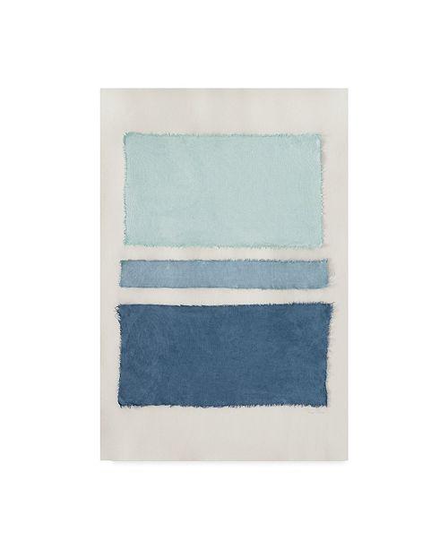 "Trademark Global Piper Rhue Painted Weaving V Crop Canvas Art - 20"" x 25"""