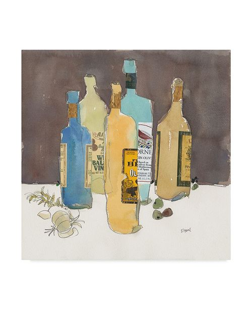"Trademark Global Samuel Dixon Array of Olive Oil I Canvas Art - 27"" x 33"""