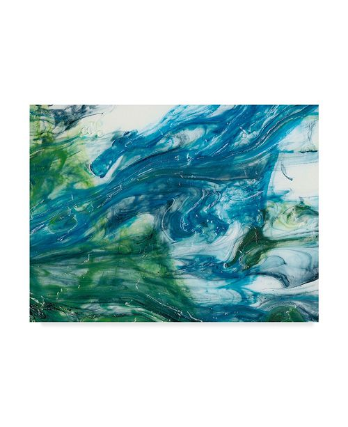 "Trademark Global Sharon Chandler Tidal Sweep I Canvas Art - 37"" x 49"""