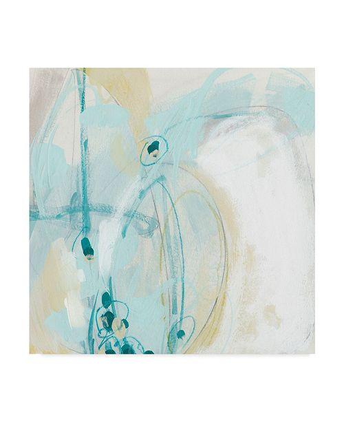 "Trademark Global June Erica Vess Sea Story I Canvas Art - 15"" x 20"""