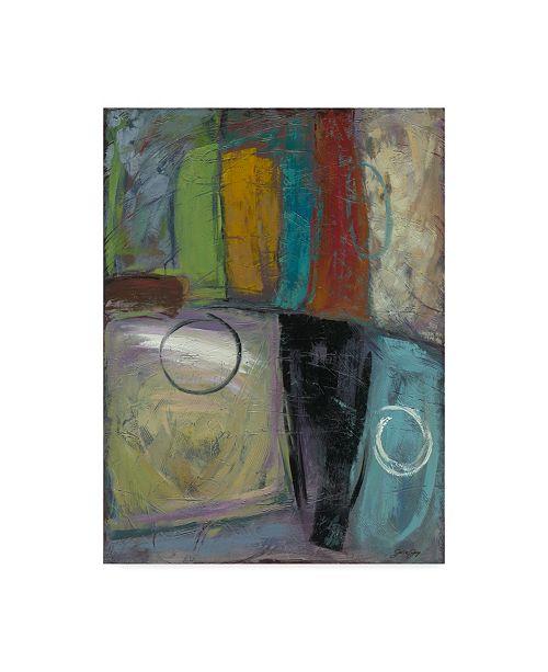 "Trademark Global Julie Joy Cool Jazz I Canvas Art - 37"" x 49"""