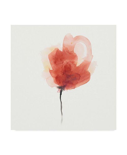 """Trademark Global June Erica Vess Expressive Blooms III Canvas Art - 15"""" x 20"""""""