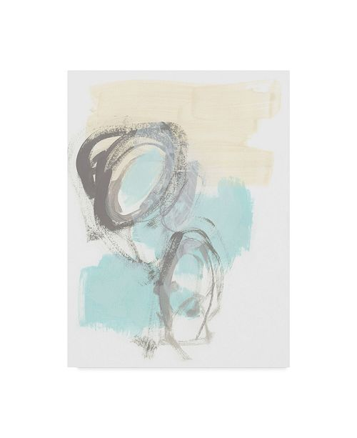 "Trademark Global June Erica Vess Perpetual Gesture III Canvas Art - 37"" x 49"""