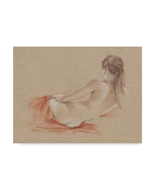 "Trademark Global Ethan Harper Classical Figure Study I Canvas Art - 20"" x 25"""