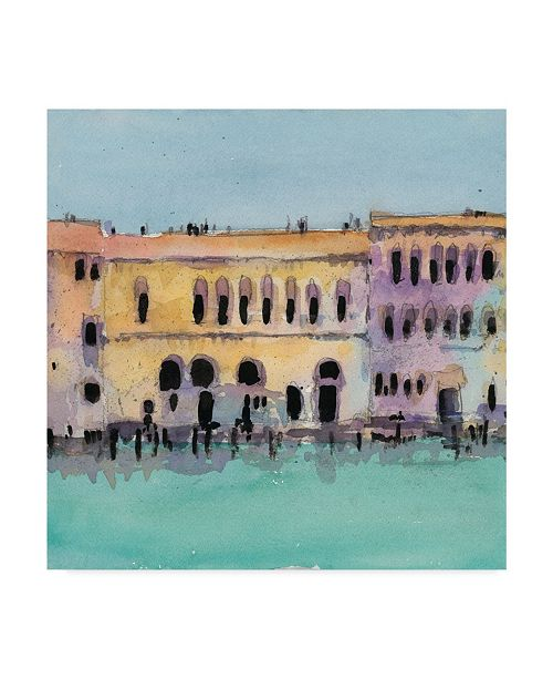 "Trademark Global Samuel Dixon Venice Plein Air VI Canvas Art - 27"" x 33"""