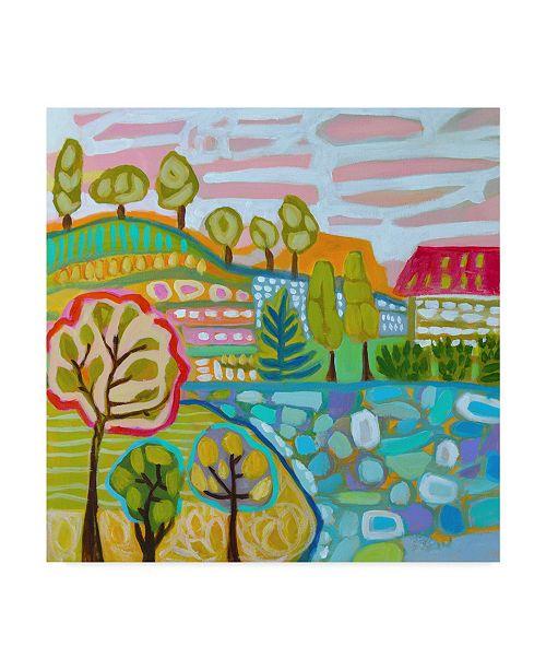 "Trademark Global Karen Fields Tree Farm Canvas Art - 15"" x 20"""