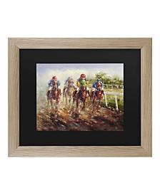 """Masters Fine Art Kentucky Derby Matted Framed Art - 37"""" x 49"""""""