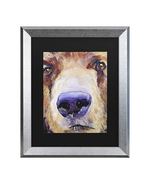 "Trademark Global Pat Saunders-White The Sniffer Matted Framed Art - 27"" x 33"""