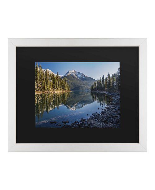 "Trademark Global Pierre Leclerc Jasper Morning Matted Framed Art - 20"" x 25"""