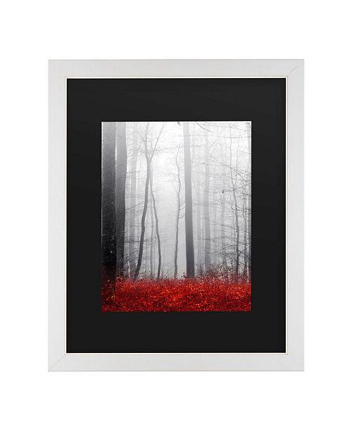 "Trademark Global Philippe Sainte-Laudy Little Red Carpet Matted Framed Art - 20"" x 25"""