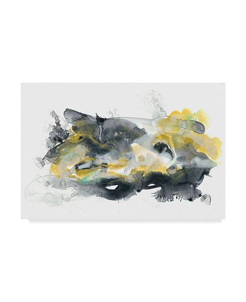 """Trademark Global June Erica Vess Lunar Veil II Canvas Art - 15"""" x 20"""""""