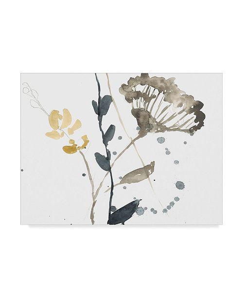"""Trademark Global Jennifer Goldberger Branch Contours VI Canvas Art - 15"""" x 20"""""""