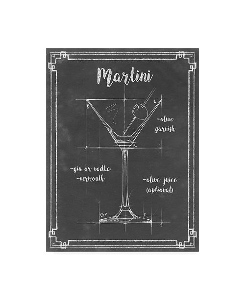 "Trademark Global Ethan Harper Mixology V Canvas Art - 20"" x 25"""