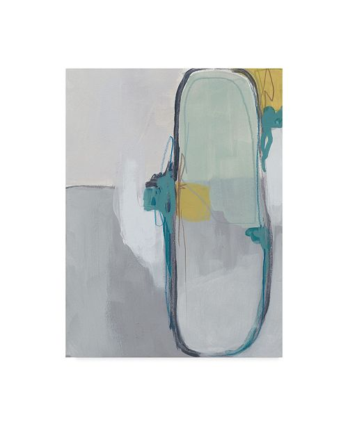 "Trademark Global June Erica Vess Closed System I Canvas Art - 15"" x 20"""