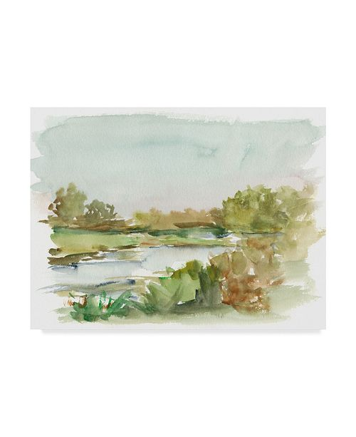 "Trademark Global Ethan Harper Impressionist Watercolor I Canvas Art - 15"" x 20"""