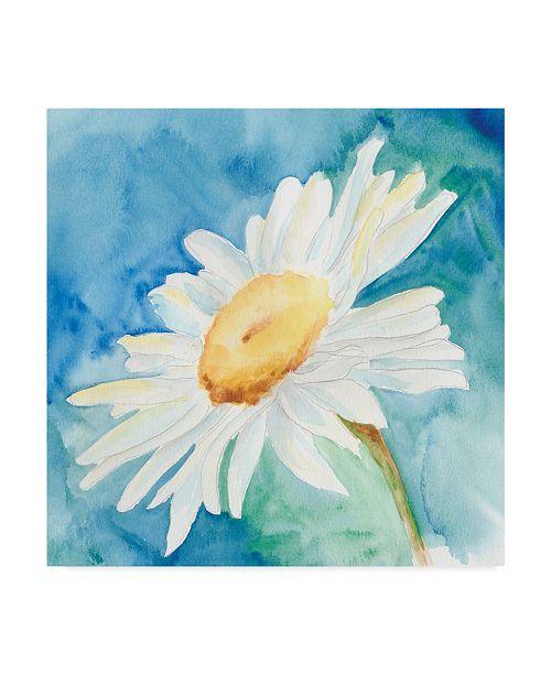 "Trademark Global Regina Moore Daisy Sunshine I Canvas Art - 15"" x 20"""