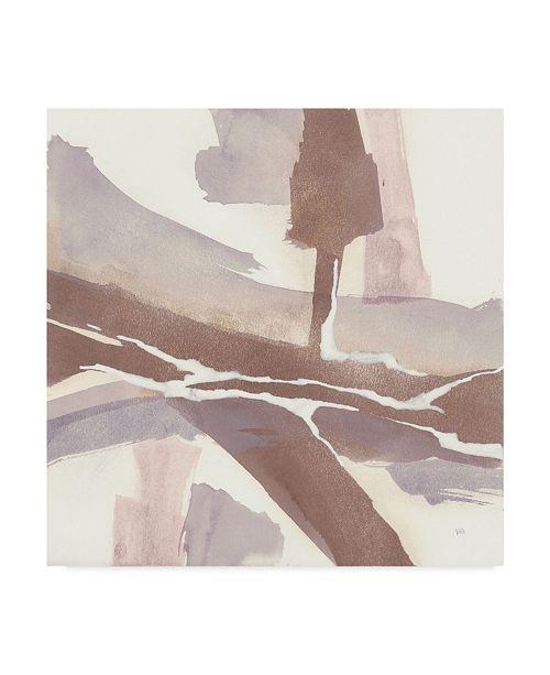"Trademark Global Chris Paschke White and Placid I Blush Canvas Art - 15"" x 20"""