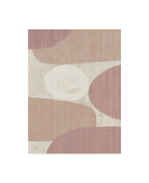 "Trademark Global Michael Mullan Costa Del Sol Ii Blush Canvas Art - 15"" x 20"""
