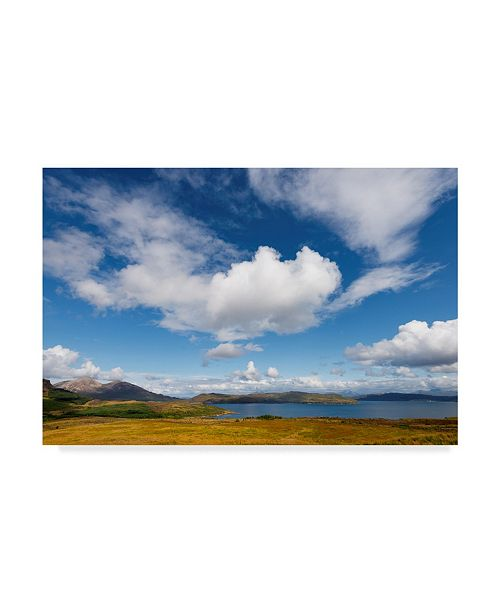 """Trademark Global Philippe Sainte-Laudy Under the Clouds Lake Canvas Art - 15"""" x 20"""""""