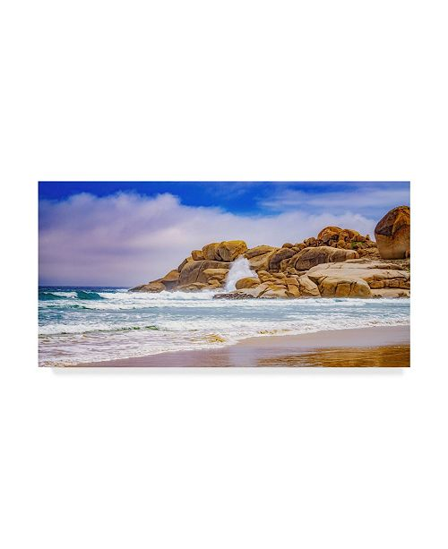 "Trademark Global Pixie Pics Sand Under Clouds V Canvas Art - 15"" x 20"""