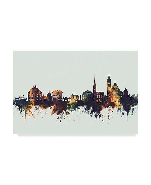 "Trademark Global Michael Tompsett Hallstatt Austria Skyline IV Canvas Art - 20"" x 25"""