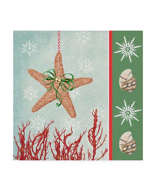 """Trademark Global Jade Reynolds Christmas Coastal III Canvas Art - 27"""" x 33"""""""