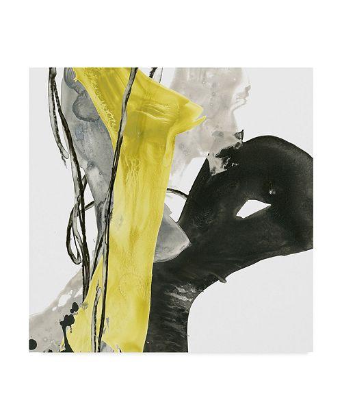 "Trademark Global June Erica Vess Citron Flux I Canvas Art - 15"" x 20"""