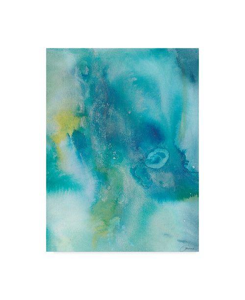 """Trademark Global Joyce Combs Sea Jade I Canvas Art - 20"""" x 25"""""""
