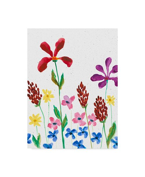 "Trademark Global Regina Moore Vivid Whimsy II Canvas Art - 20"" x 25"""