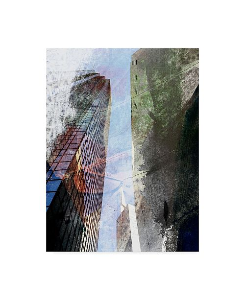 "Trademark Global Sisa Jasper Dallas Architecture III Canvas Art - 37"" x 49"""