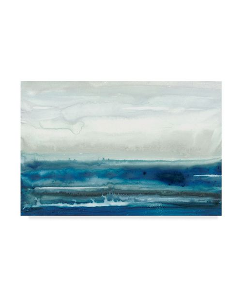 "Trademark Global Renee W. Stramel Lake Country II Canvas Art - 37"" x 49"""