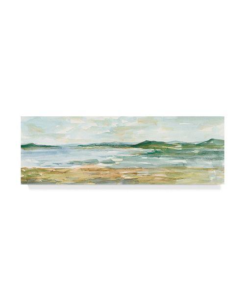 "Trademark Global Ethan Harper Panoramic Seascape I Canvas Art - 37"" x 49"""