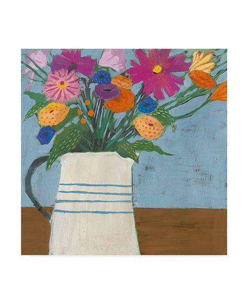 "Trademark Global Victoria Borges Farmhouse Flora II Canvas Art - 15"" x 20"""