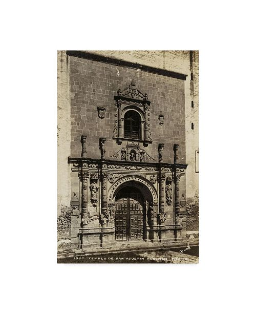 """Trademark Global Unknown Old Mexico I Canvas Art - 20"""" x 25"""""""