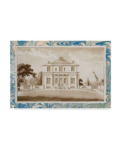 """Trademark Global Vision Studio Sepia Estates V Canvas Art - 37"""" x 49"""""""