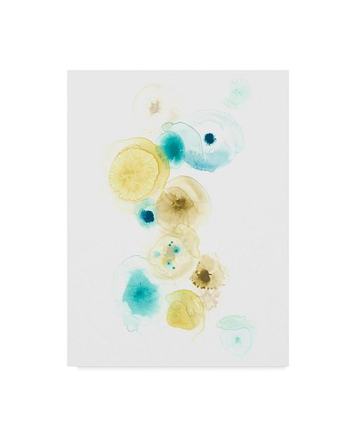 "Trademark Global June Erica Vess Petri I Canvas Art - 37"" x 49"""