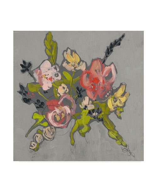 "Trademark Global Jennifer Goldberger Blush & Paynes Bouquet II Canvas Art - 15"" x 20"""