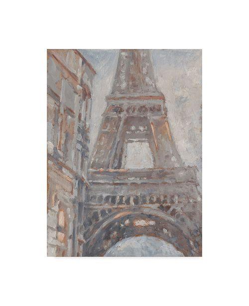 """Trademark Global Ethan Harper Parisian Dawn I Canvas Art - 15"""" x 20"""""""