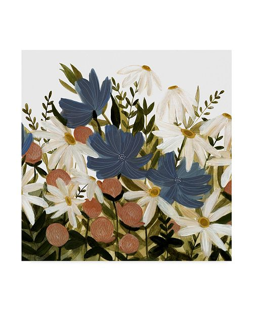 "Trademark Global Emma Scarvey Wildflower Garden II Canvas Art - 15"" x 20"""