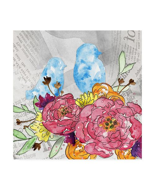 """Trademark Global Catherine Mcguire Bloom & Fly IV Canvas Art - 20"""" x 25"""""""