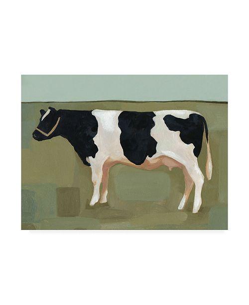 "Trademark Global Emma Scarvey Bovine Portrait II Canvas Art - 20"" x 25"""