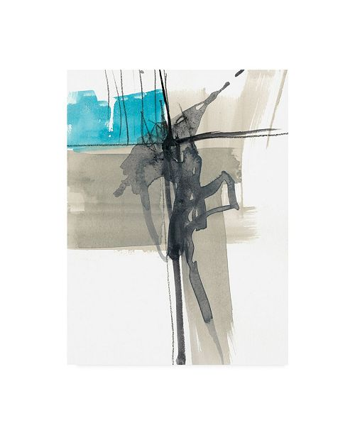 "Trademark Global Jennifer Goldberger Ua Ch Kinetic Grid I Canvas Art - 20"" x 25"""