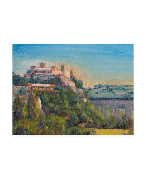 "Trademark Global Sandra Iafrate Nostalgic Tuscany II Canvas Art - 20"" x 25"""