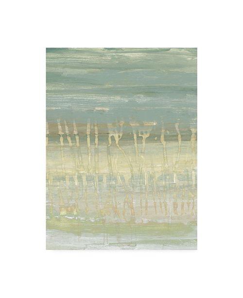 "Trademark Global Jennifer Goldberger Muted Horizon I Canvas Art - 20"" x 25"""