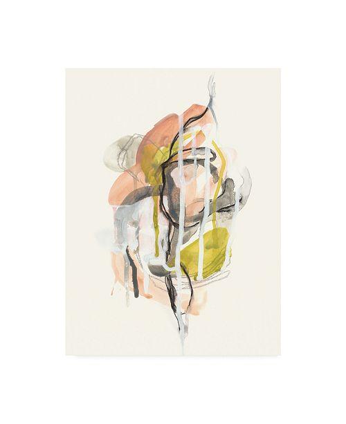 "Trademark Global June Erica Vess Chimera II Canvas Art - 15"" x 20"""